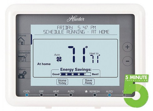 Hunter 7 Day Programmable Thermostat