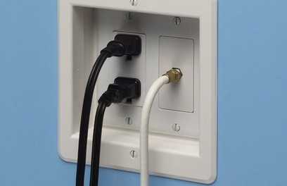 Recessed wall outlet 2