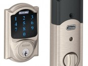 Schrage Camelot Touch Screen Deadbolt