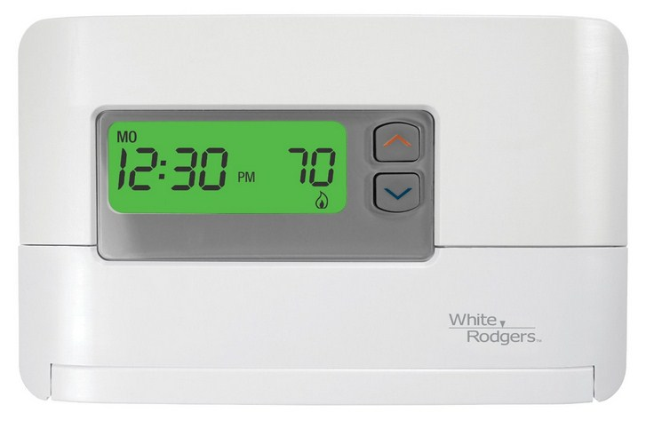 White Rodgers Programmable Thermostat