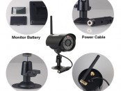 Wireless Night Vision Security Camera System 2