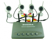 Wireless Video Surveillance System with DVR